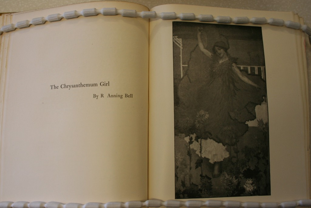 "(""The Chrysanthemum Girl"" ) (Image appears courtesy of University of Calgary Special Collections.)"
