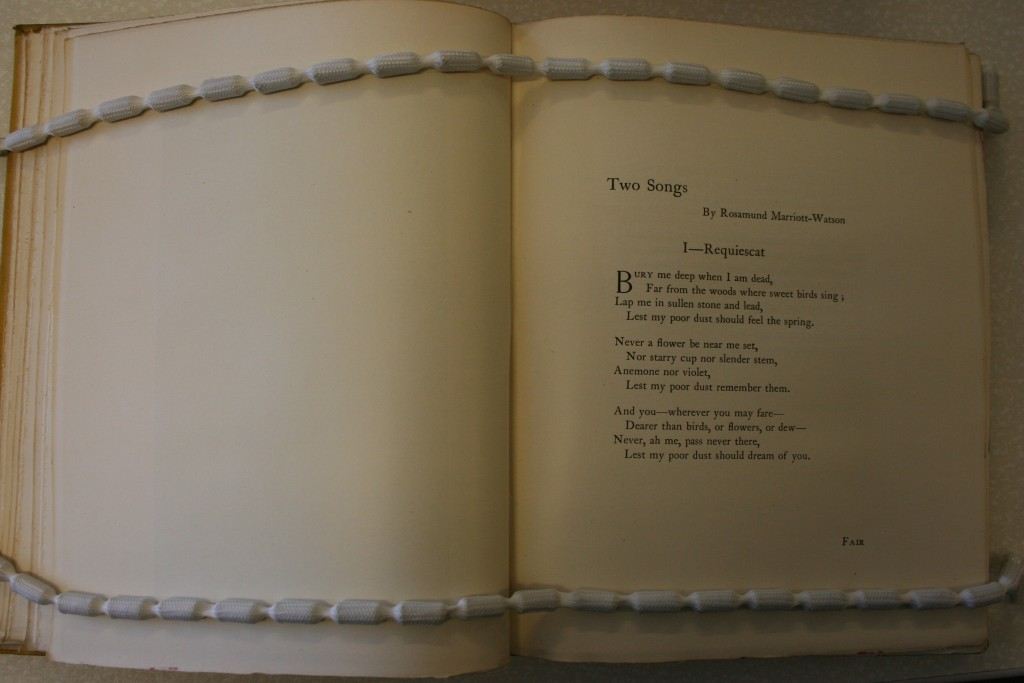 "(""Two Songs"") (Image appears courtesy of University of Calgary Special Collections.)"