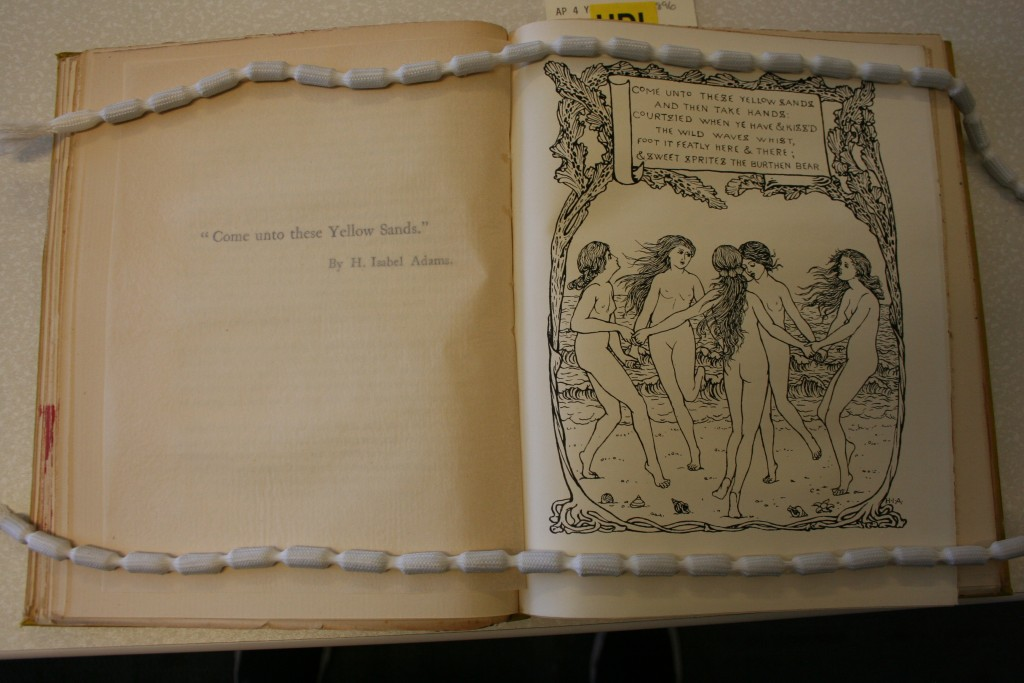 "(""Come Unto These Yellow Sands"") (Image appears courtesy of University of Calgary Special Collections.)"