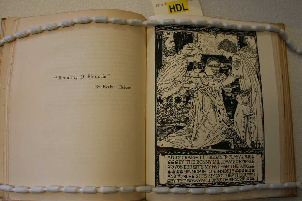 "(""A Reading From Herrick"") (Image appears courtesy of University of Calgary Special Collections.)"